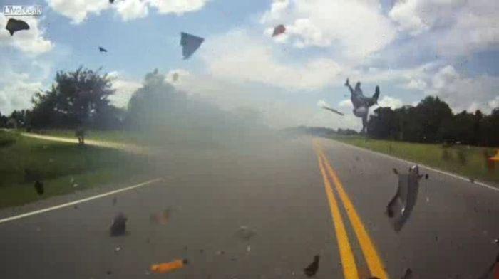 Авария дня часть 724 (фото+видео)