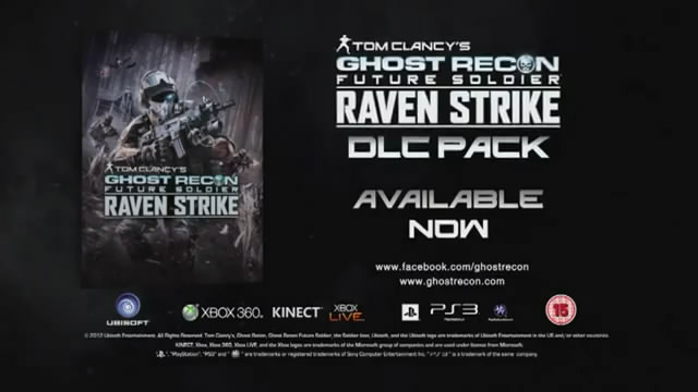 Ghost Recon Future Soldier: Raven Strike вышел на консолях (видео)