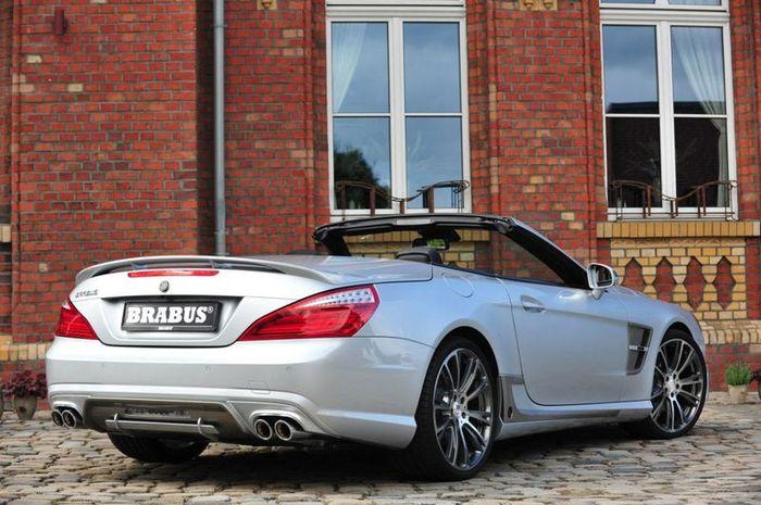 Mercedes SL-Class получил новый пакет тюнинга от ателье Brabus (60 фото)