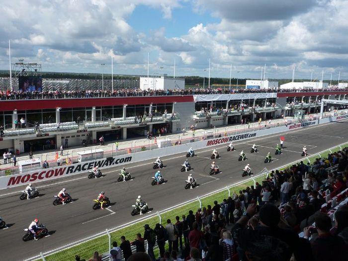 Этап FIM WSBK на Moscow Raceway (60 фото)