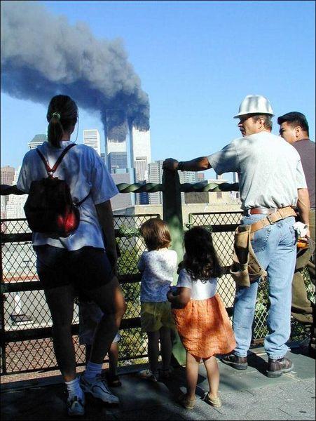 Редкие фотографии событий 11 сентября 2001 года (25 фото)