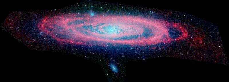 Галактика Андромеды - наша соседка в огромной Вселенной (7 фото)