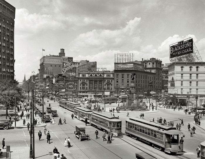 Американские мегаполисы сто лет назад (37 фото)