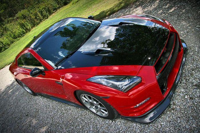В ателье Switzer Performance зарядили Nissan GT-R до 1400 л.с. (5 фото+видео)