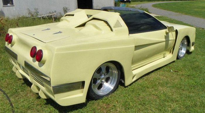 Легендарный Pontiac Firebird в необычном исполнении (20 фото)