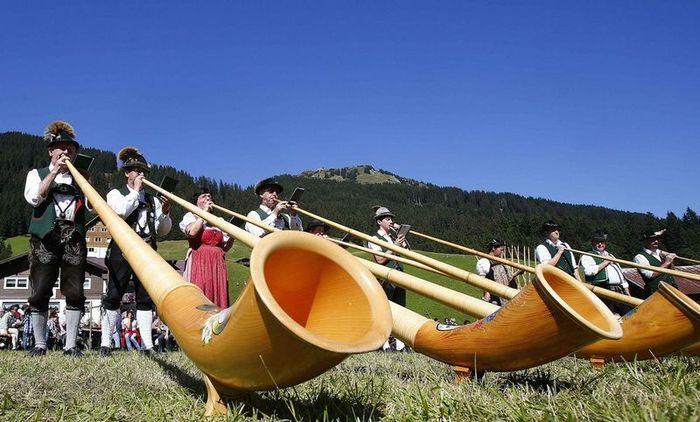 Фестиваль альпийских рогов (10 фото)