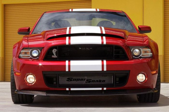 Ford Mustang GT500 получил заряженную версию Super Snake (11 фото)