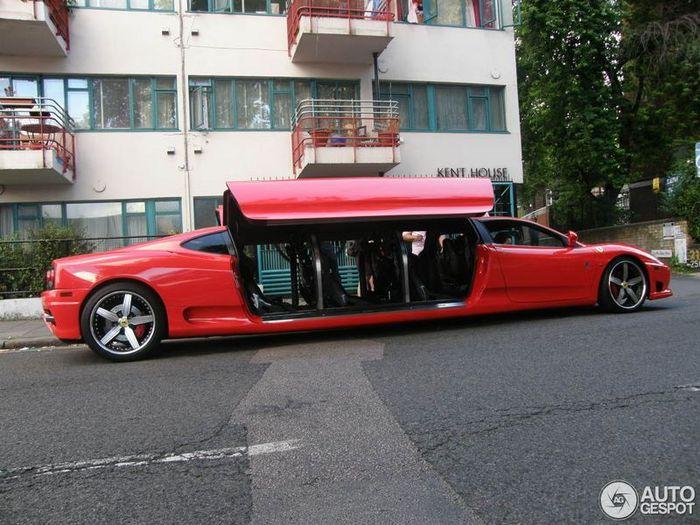 Необычный лимузин со спортивным характером (10 фото)