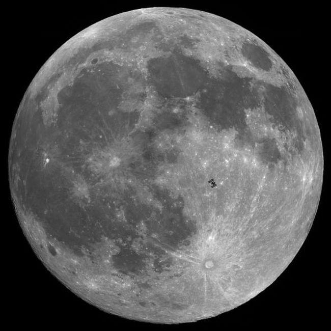 Луна 2012 года (12 фото)