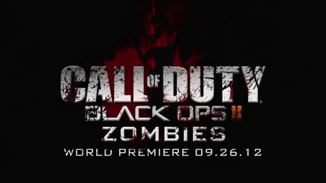 Тизер-трейлер зомби-режима в Black Ops 2 (видео)