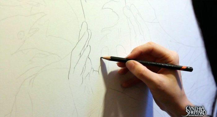 Как создается шедевр (11 фото)