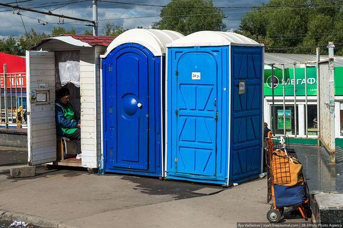 Общественные туалеты (11 фото)