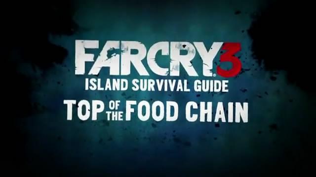 Видео Far Cry 3 – вершина пищевой цепочки (видео)