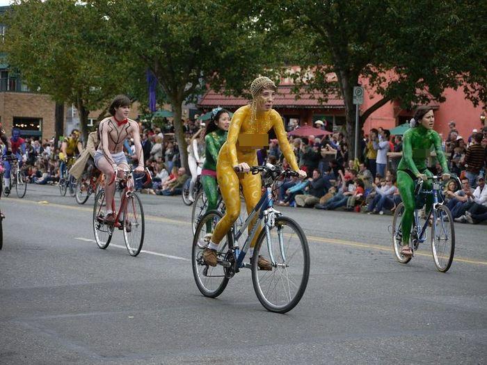 Голый парад в Сиэтле (31 фото)