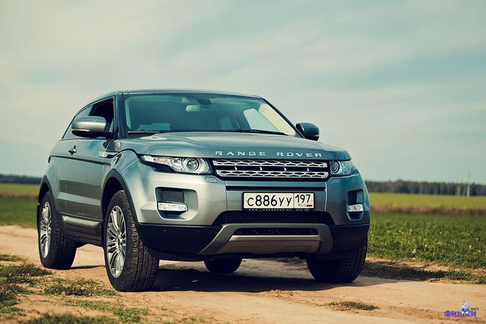 Тест-драйв Range Rover Evoque Coupe (30 фото)