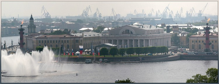 Санкт-Петербург глазами Юрия Овчинникова (46 фото)