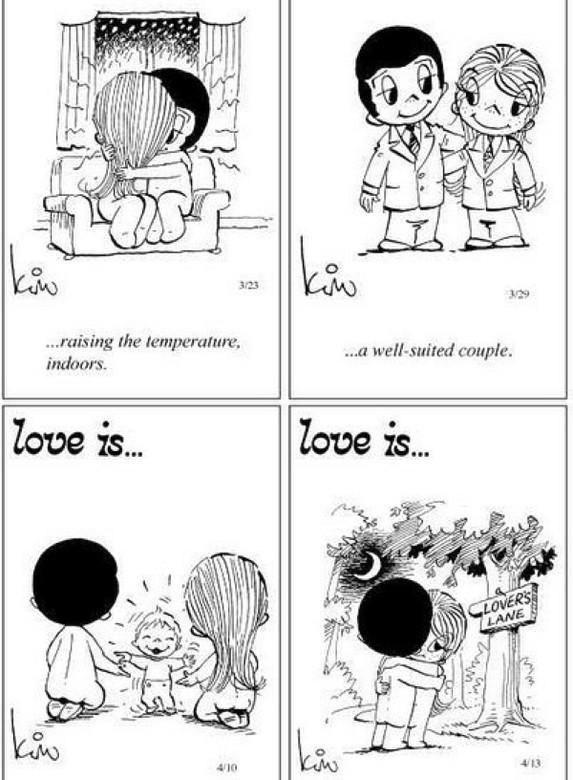 Love Is (Любовь Это) Оригинальные комиксы