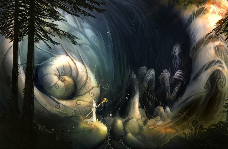 Arte Digital Fantasia en 3D