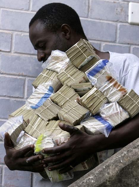 Inflacja w Zimbabwe