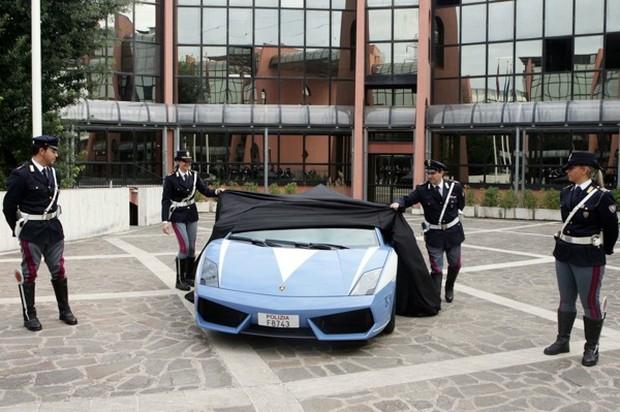 Lamborghini Gallardo LP560-4 untuk Polis Itali