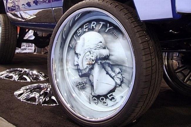 Необычные диски для авто (20 фото)
