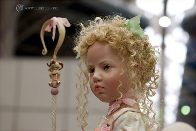 Международный салон кукол в Москве (55 фото)