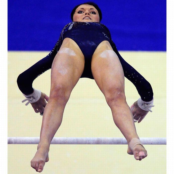 Женщины гимнастки любительские фото