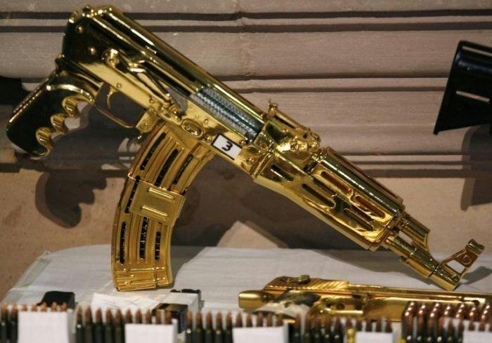 Las armas de los narcos