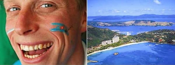 Уборщик на райском острове.<br>Бен Сотхел, был отобран из 35,000 претендентов. Пол года он будет служить уборщиком острова Hamilton с зарплатой $110,000, и проживать на вилле на берегу моря.
