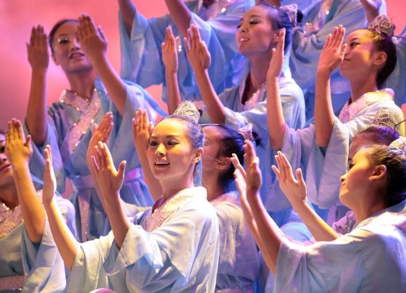 Китайский балет (9 фото)