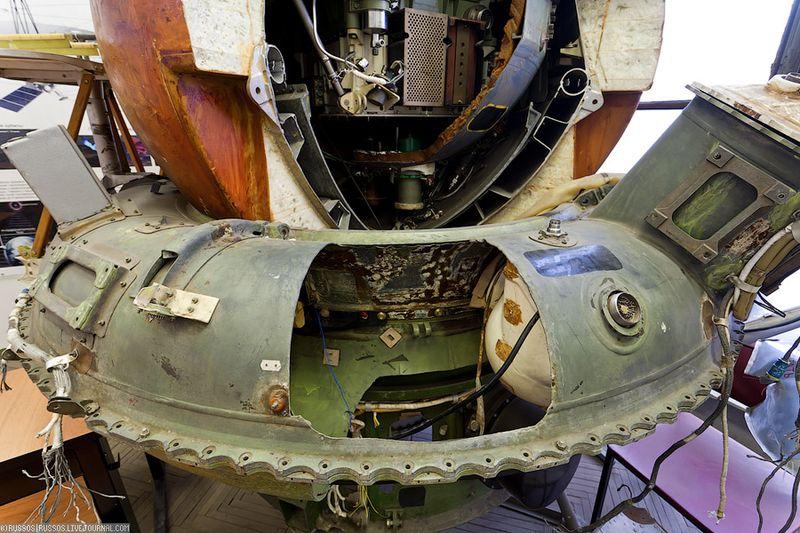 5. Фрагмент спускаемого аппарата Марсинской программы.
