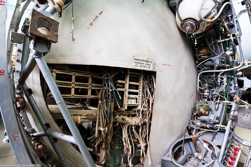 37. Приборно-агрегатный отсек Союза.