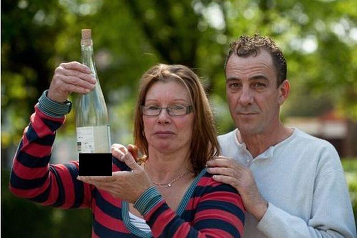Купила бутылочку вина, а там... (5 фото)