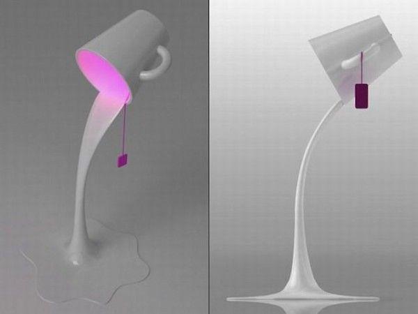 А это вообще не чашка, а внезапно светильник: