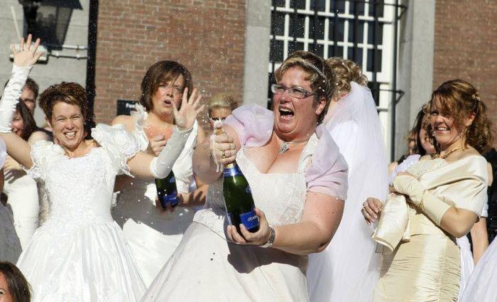 Свадьбы в день трех десяток (15 фото)