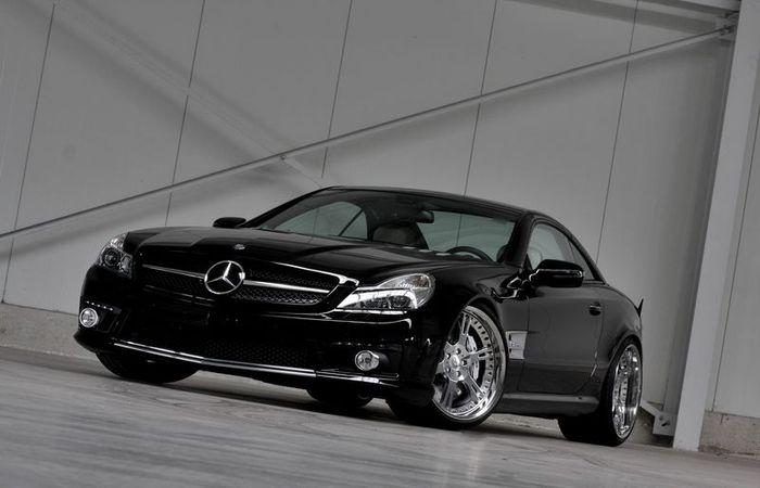Wheelsandmore прокачали Mercedes SL65 AMG до 697 л/с (5 фото)