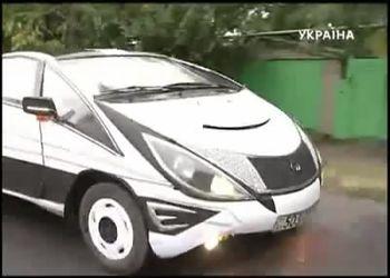 Украинский самоделкин сделал Викторию к Euro 2012