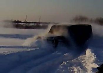 Гелендваген в непролазных снегах!!!
