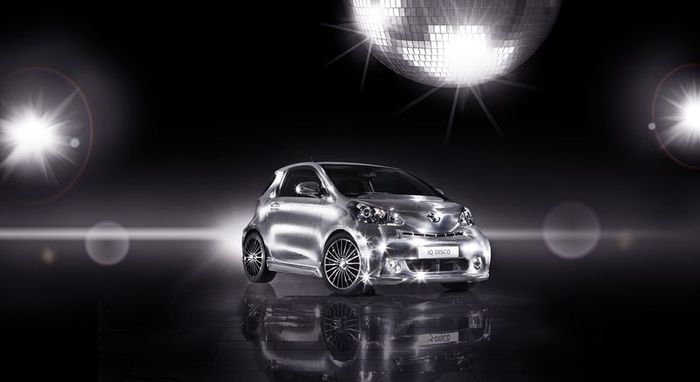 Новая версия Toyota iQ Disco (10 фото)