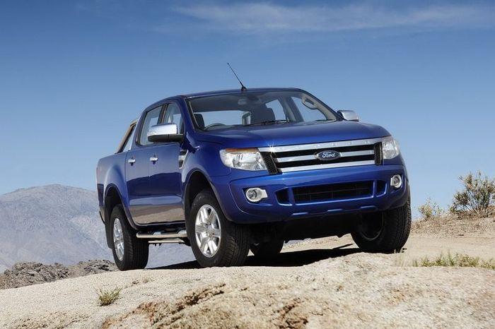 Ford показал новый пикап Ranger (21 фото)