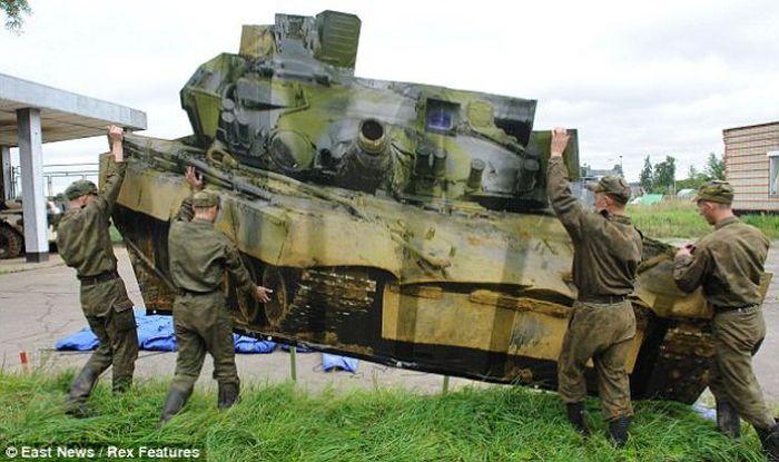 Надувная военная техника России. Полная версия. (42 фото)