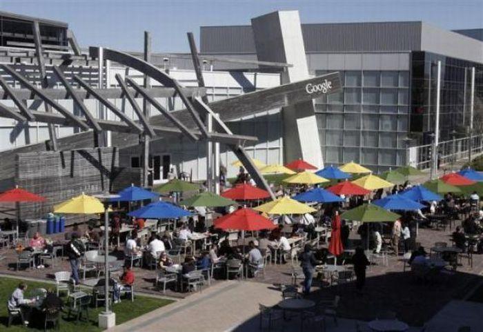 Офисы Google в Калифорнии и Нью Йорке (32 фото)