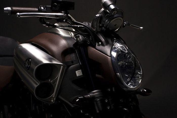 Концепта мотоцикла V-Max от Yamaha и Hermes (5 фото)