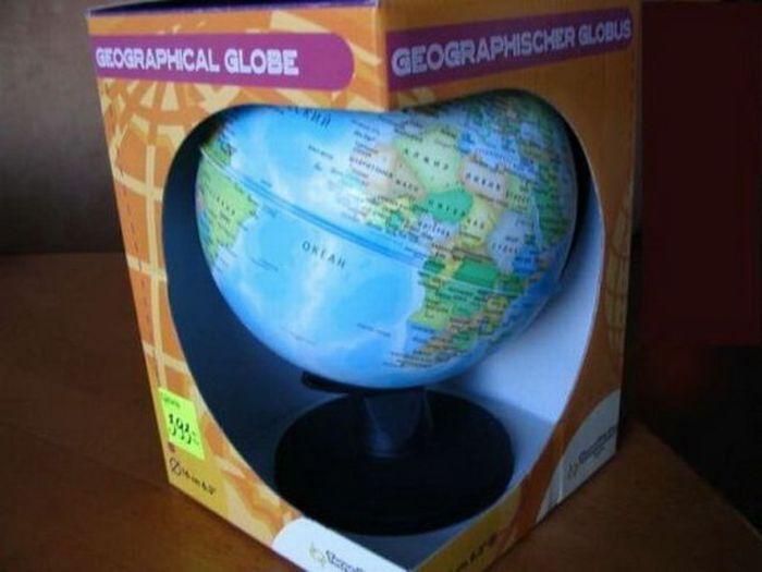 Как выглядит китайский глобус? (9 фото)