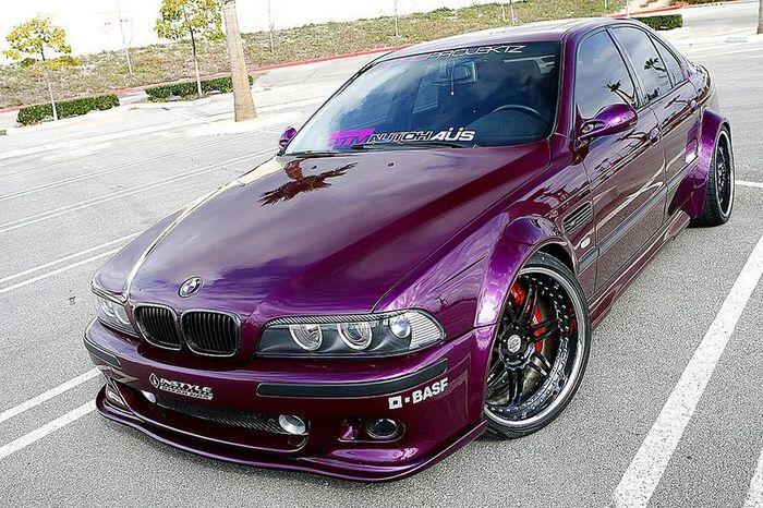 грамотный тюнинг BMW E39 (30 фото)