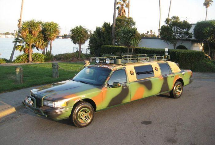 Камуфлированный лимузин всего за $5 тыс (7 фото)