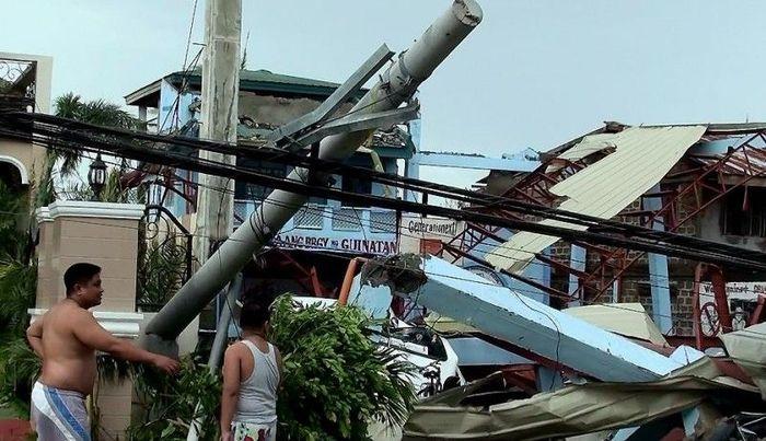На Филиппины обрушился супертайфун Меги (24 фото+текст)