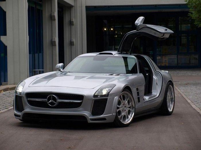 Fab Design показали тюнинг-кит для Mercedes-Benz SLS AMG (4 фото)