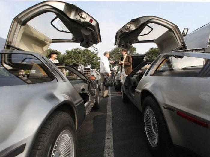 Юбилейный слет любителей DeLorean (11 фото)