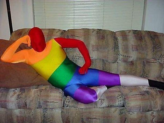 Как не надо одеваться на Хэллоуин (14 фото)